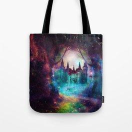 Magical castle Tote Bag