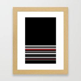 The Classy Babe - Black Framed Art Print
