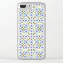 Cute tribal spring patterns Clear iPhone Case