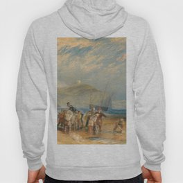 "J.M.W. Turner ""Folkestone Harbour and Coast to Dover"" Hoody"