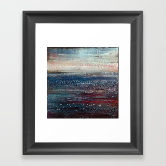 Lonely Rivers Sigh Framed Art Print