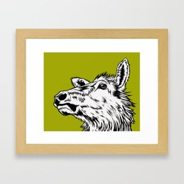 Kodiak Elk Framed Art Print