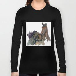 Horses #3 Long Sleeve T-shirt