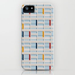 S04-2 - Facade Le Corbusier iPhone Case