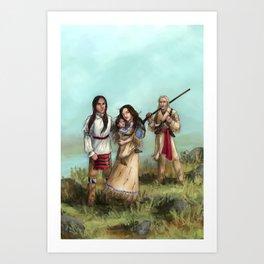 The Cherokee Years Art Print