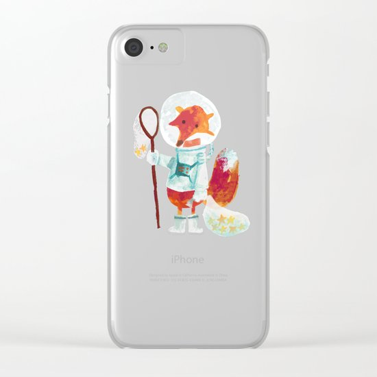 Catch the falling stars Clear iPhone Case