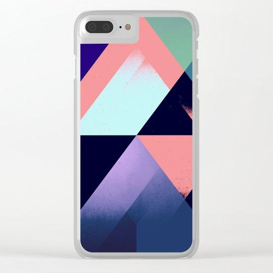fwllww thrww Clear iPhone Case