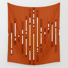 Sunset Dream – Orange / Yellow / Red Abstract Wall Tapestry