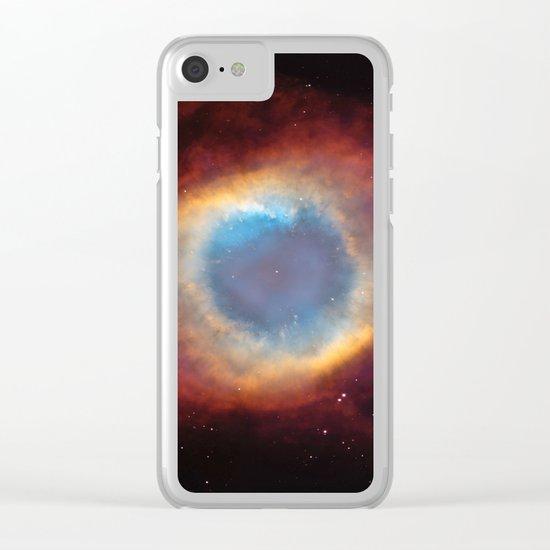 Helix Nebula Clear iPhone Case