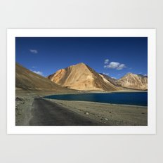 Road to the Blue! Art Print