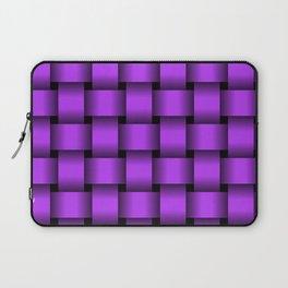 Large Light Violet Weave Laptop Sleeve