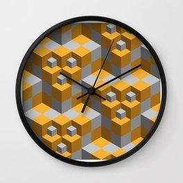 cubicals Wall Clock