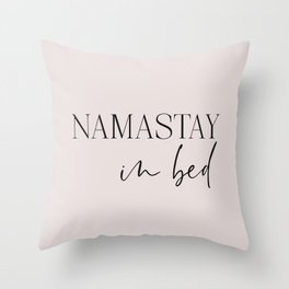 Namastay Throw Pillows For Any Room Or Decor Style Society6