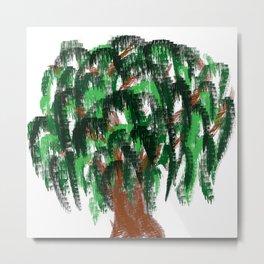 tree of life minimal sketch Metal Print