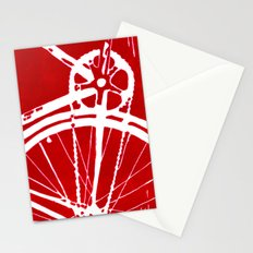 Red Bike Stationery Cards