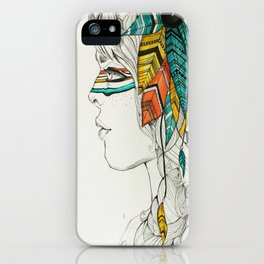 Native Woman iPhone Case