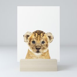 Lion Cub Mini Art Print