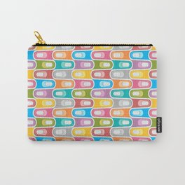Abstract Colorful Decorative Pattern Carry-All Pouch