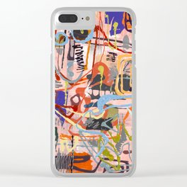 Shamanic Painting 02 Clear iPhone Case