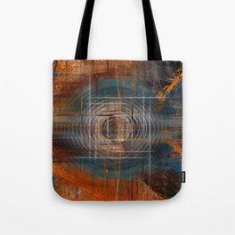 Unoccupied Digital Landscape Tote Bag