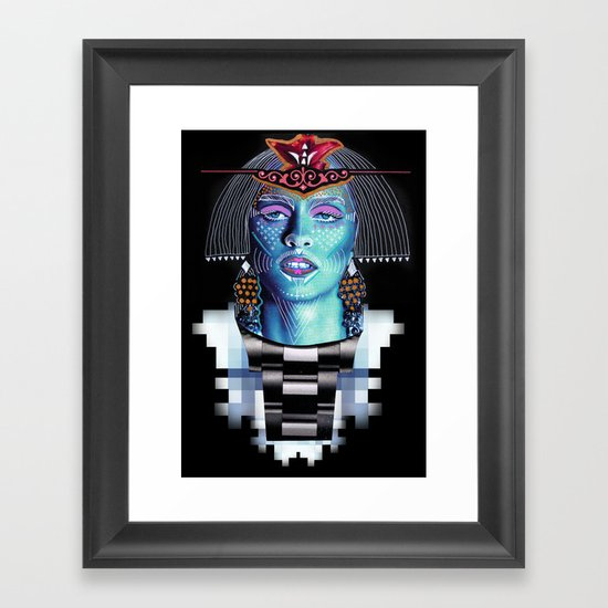 ::Goddess of Orient:: Framed Art Print