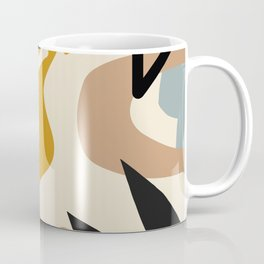 Botanical Abstracts Minimal #illustration #digitalart Coffee Mug