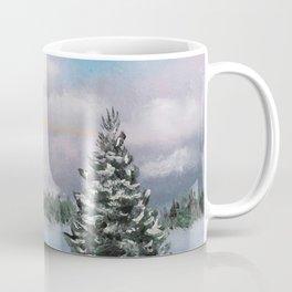 Sunset Winter Snow Coffee Mug