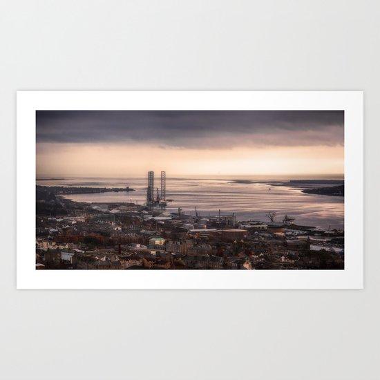 The Tay Estuary Art Print