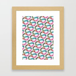 S for Sophie - Unique, personalised initial print. Framed Art Print