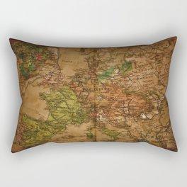 Map of Europe 1740 Rectangular Pillow