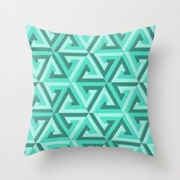 Geometrix LV Throw Pillow