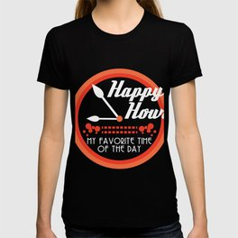 """""""Happy Hour My Favorite Time Of The Day"""" tee design. Made perfectly for party lovers like you!  T-shirt"""