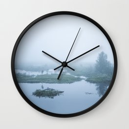 Silent hours Wall Clock