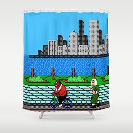 Ask Gary Vee Show - NES Punch Out Training Shower Curtain