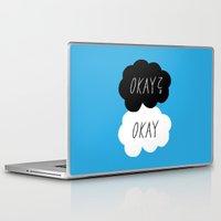 okay Laptop & iPad Skins featuring Okay? Okay by Lola