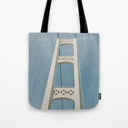 Mackinaw Bridge Tote Bag