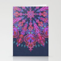 bohemian Stationery Cards featuring Bohemian by micklyn