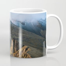 Mountain range in Iceland during Sunset – Landscape Photography Coffee Mug