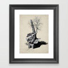 Immerse & Pondering Framed Art Print