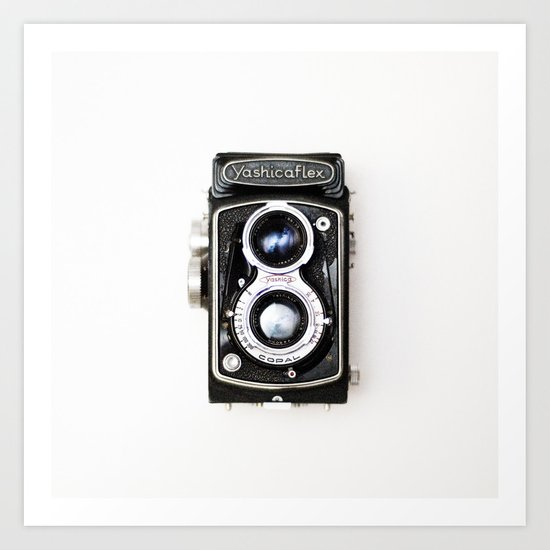 Yashica Retro Vintage Camera Art Print