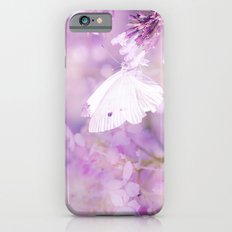 Butterfly :: White Violet iPhone 6s Slim Case