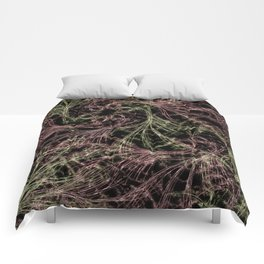 Red Magical Wisps Comforters