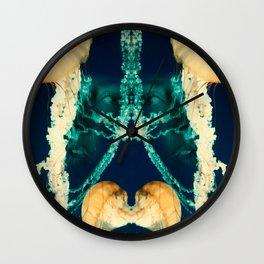 Jellyface III Wall Clock