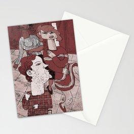 Sitting Still Stationery Cards