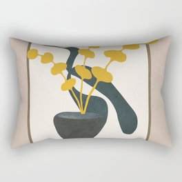 Branches in a Vase Rectangular Pillow