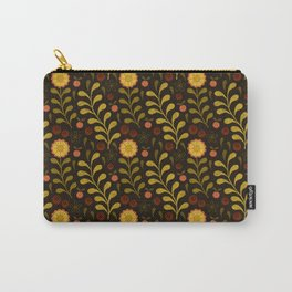 floral night Carry-All Pouch