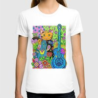 hippy T-shirts featuring Hippy Puss by SwanniePhotoArt