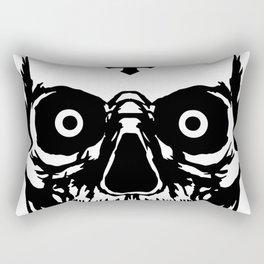 Most Ugly Satanic Skull Rectangular Pillow