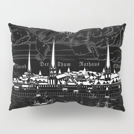 Riga 1544 (inverted) Pillow Sham