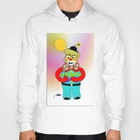 clown Hoodies featuring Clown by LoRo  Art & Pictures